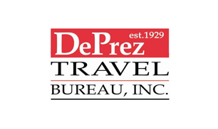 Logo DePrez Travel Bureau, Inc