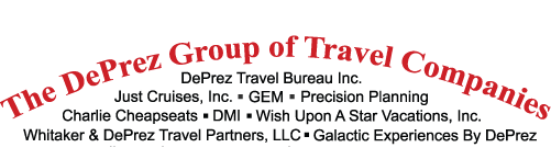 Logo The DePrez Group of Travel Companies
